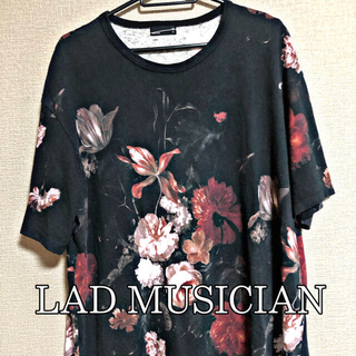 LAD MUSICIAN - LAD MUSICIAN 18ss 花柄 Tシャツ
