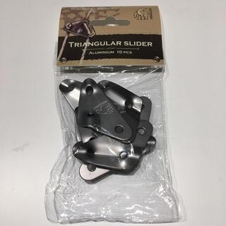 Nordisk ノルディスクアルミ製 トライアングル型スライダー 10 個セット(テント/タープ)
