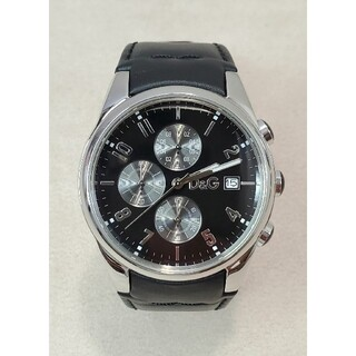 ドルチェアンドガッバーナ(DOLCE&GABBANA)の良品 ドルガバ 「サンドパイパー」 クロノグラフ D&G(腕時計(アナログ))