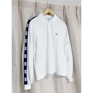 クリスチャンディオール(Christian Dior)のクリスチャンディオールスポーツ 長袖ポロシャツ 魚ライン(ポロシャツ)