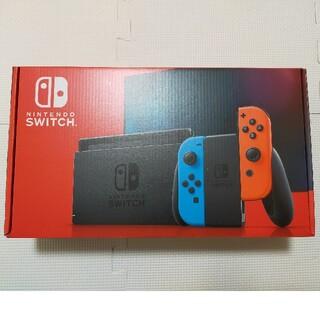 ニンテンドースイッチ(Nintendo Switch)のSwitch本体 ネオンブルー、ネオンレッド 新品未開封(家庭用ゲーム機本体)