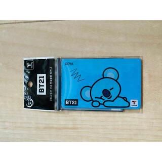 BTS BT21 交通カード Tマネー KOYA 交通カード  コーヤ(アイドルグッズ)