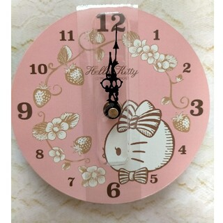 サンリオ(サンリオ)のハローキティ 壁掛け時計 非売品(掛時計/柱時計)