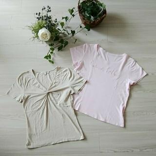 ローラアシュレイ(LAURA ASHLEY)の♢ローラアシュレイ トップス2枚セット♢(Tシャツ(半袖/袖なし))