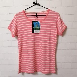 オンヨネ(ONYONE)の【新品】ONYONEレディス半袖Tシャツ(虫よけ機能付き) M  ピンク(登山用品)