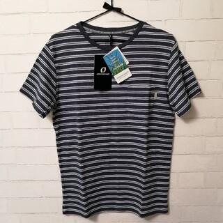 オンヨネ(ONYONE)の【新品】ONYONE メンズ半袖Tシャツ(虫よけ機能付き) Mサイズ ネイビー(登山用品)