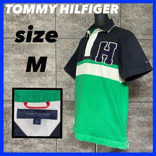 TOMMY HILFIGER - 【人気】TOMMY HILFIGER トミーヒルフィガー ラガーシャツ サイズM