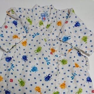 ミキハウス(mikihouse)のミキハウス 甚平 100 美品(甚平/浴衣)