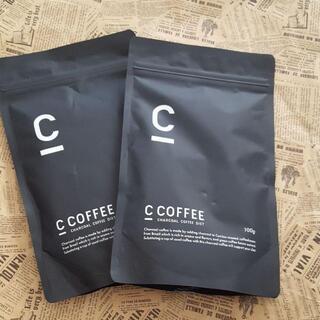 シーコーヒー C COFFEE チャコールコーヒーダイエット2袋(ダイエット食品)