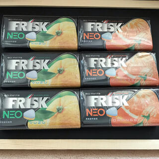 フリスク ネオ  オレンジ と  フリスク ネオ ユズ新品、未使用、未開封(菓子/デザート)