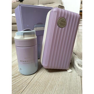 スターバックスコーヒー(Starbucks Coffee)の値下げstarbucks スターバックス 中国限定スーツケース付き水筒(容器)