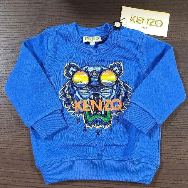 KENZO(ケンゾー)の新品 KENZO トレーナー 1A キッズ/ベビー/マタニティのベビー服(~85cm)(トレーナー)の商品写真