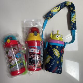 男の子 水筒 スケーター 直のみボトル 3個セット トイストーリー カーズ(水筒)