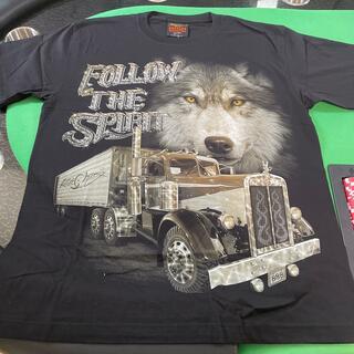 リアルTシャツ FOLLOW THE SPIRIT サイズL(Tシャツ/カットソー(半袖/袖なし))