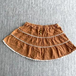 ビケットクラブ(Biquette Club)の子供服 キムラタンのスカート 90㎝(スカート)