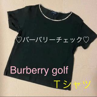 バーバリー(BURBERRY)のBurberry golf Tシャツ バーバリー(シャツ/ブラウス(半袖/袖なし))
