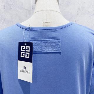 ジバンシィ(GIVENCHY)の新品 GIVENCHY ジバンシィ 日本製 16000円 ブルー 半袖 Tシャツ(Tシャツ(半袖/袖なし))