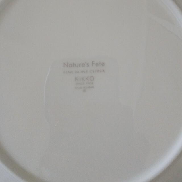 NIKKO(ニッコー)のNIKKO ペアパスタプレート インテリア/住まい/日用品のキッチン/食器(食器)の商品写真