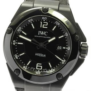 インターナショナルウォッチカンパニー(IWC)の☆良品 IWC インヂュニア AMG ブラック メンズ 【中古】(腕時計(アナログ))
