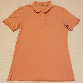 ユニクロ(UNIQLO)の【最終値下げ】ユニクロ ポロシャツ オレンジ(ポロシャツ)