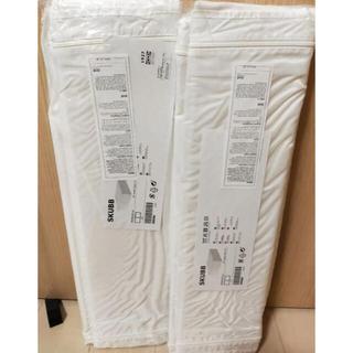 IKEA - 値下げ!IKEA スクッブ 新品 Mサイズ 白3本