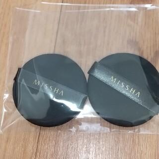 ミシャ(MISSHA)のミシャ クッションファンデーション パフ2枚組(パフ・スポンジ)