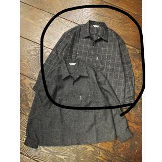 クーティー(COOTIE)のCOOTIE Melange Wool Work Shirt -Melange-(ブルゾン)