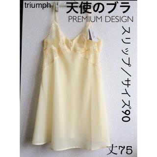 Triumph - 【新品タグ付】triumph/天使のブラPREMIUMスリップ(定価¥9680)