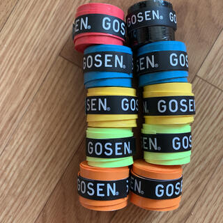 ゴーセン(GOSEN)の新品 グリップ 10本巻 ゴーセン(バドミントン)