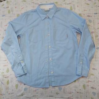 コロンビア(Columbia)のColumbia シャツ 水色 Lサイズ(シャツ/ブラウス(長袖/七分))