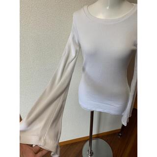 プラージュ(Plage)のplage購入 MONROW袖フレアトップス(Tシャツ(長袖/七分))