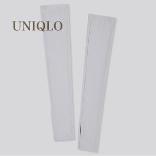 ユニクロ(UNIQLO)のユニクロ エアリズムUVカットメッシュ アームカバー M (手袋)