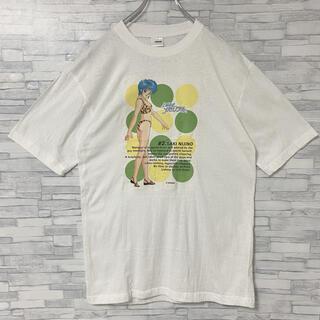 コナミ(KONAMI)の【非売品】未使用 90s  ときめきメモリアル  虹野沙希 デカプリント  白(Tシャツ/カットソー(半袖/袖なし))