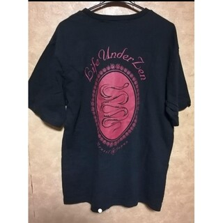 ルース(LUZ)のLUZ ルース 黒 Tシャツ(Tシャツ/カットソー(半袖/袖なし))