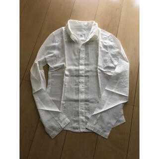 ディーゼル(DIESEL)のDIESEL透け感 ホワイトシャツ(シャツ/ブラウス(長袖/七分))