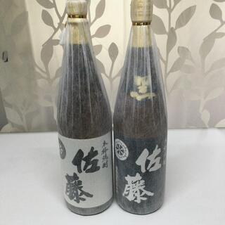 焼酎 佐藤 黒 白 1.8リットル 2本セット(焼酎)