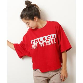 ジュエティ(jouetie)の[新品][DOUBLU NAME]ダブルネーム SPLASHフリンジ刺繍トップス(Tシャツ(半袖/袖なし))