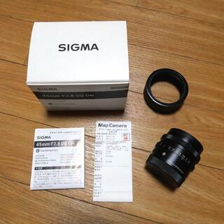 SIGMA - SIGMA 45mm F2.8 DG DN ソニー Eマウント