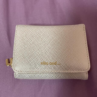 niko and... - niko and... 二つ折り財布