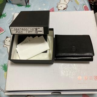 ダコタ(Dakota)のDakota三つ折り財布 ブラック(折り財布)