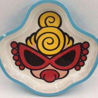 ヒステリックミニ(HYSTERIC MINI)のヒスミニ ノベルティ FACE DISH S ライトブルー(プレート/茶碗)