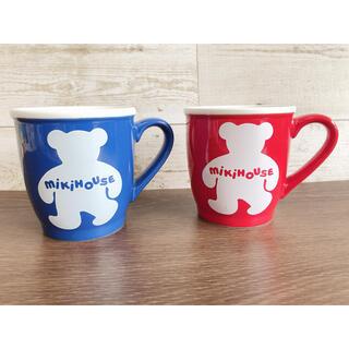 ミキハウス(mikihouse)のミキハウス MIKI HOUSE マグカップ ペアマグカップ  箱無し(グラス/カップ)