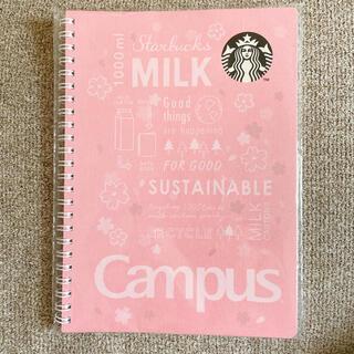 スターバックスコーヒー(Starbucks Coffee)のスタバ さくら2021 ノート 新品未開封 (ノート/メモ帳/ふせん)