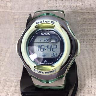 ベビージー(Baby-G)の訳あり格安出品 商品説明欄必読 CASIO ベビーG腕時計 カシオソーラー腕時計(腕時計)
