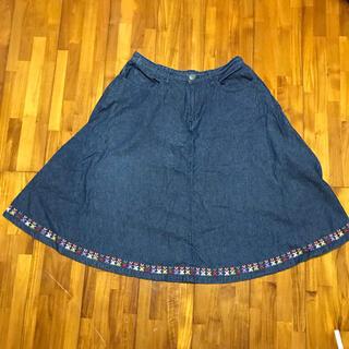 チチカカ(titicaca)のチチカカ・膝丈スカート(週末限定)(ひざ丈スカート)