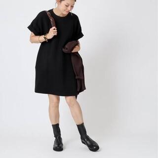 ドゥーズィエムクラス 新品【CELERI/セルリ】ワンピース ブラックDRESS(ミニワンピース)