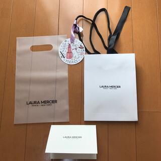 laura mercier - ローラメルシエ ショップバッグ 紙袋 メッセージカード付き