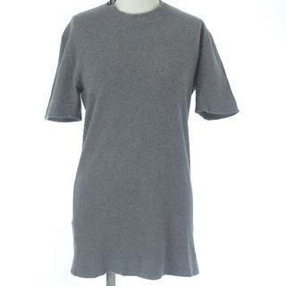 ドルチェアンドガッバーナ(DOLCE&GABBANA)のドルチェ&ガッバーナ ドルガバ Tシャツ カットソー リブ 半袖 グレー 46(Tシャツ/カットソー(半袖/袖なし))