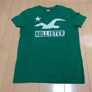 ホリスター(Hollister)のホリスター Tシャツ グリーン Sサイズ(Tシャツ/カットソー(半袖/袖なし))