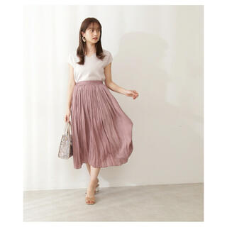 PROPORTION BODY DRESSING - プリーツスカート